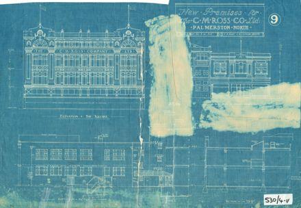 Plans, CM Ross Building, 1928