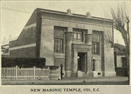 Masonic Temple 1721 E.C., 186 Broadway