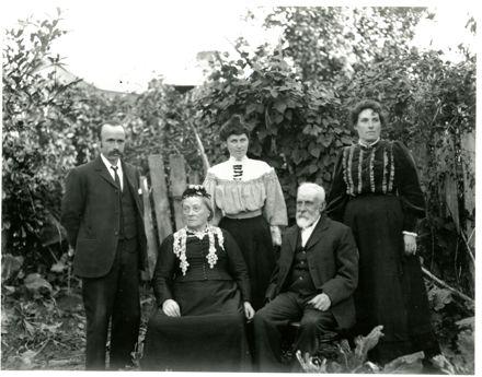 Portrait of the Dallison Family