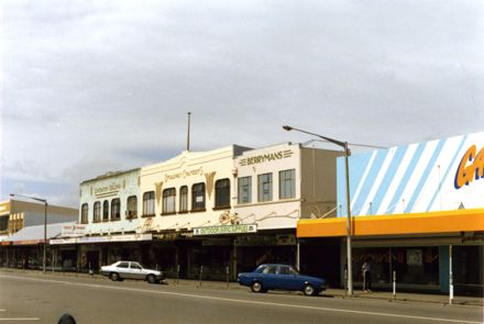Buildings on Broadway Avenue
