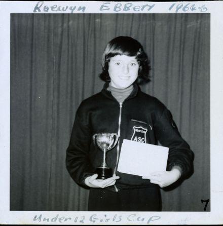 West End Amateur Swimming Champions - Raewyn Ebbett