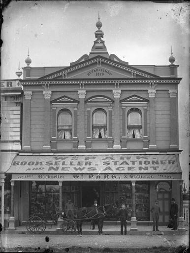 William Park's stationer shop, The Square