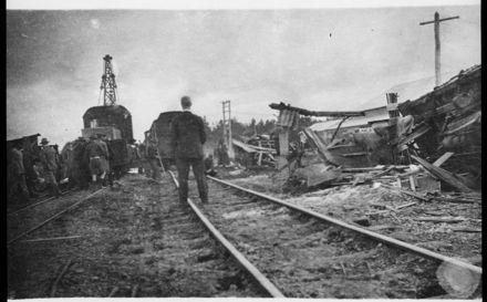 Derailment on the Palmerston North - Napier Line