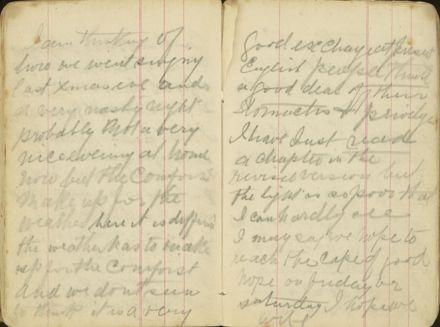 Shipboard diary p37