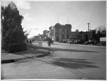 Corner of Rangitikei Street and The Square