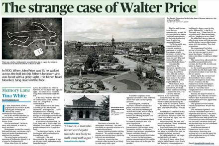 "Memory Lane - ""The strange case of Walter Price"""