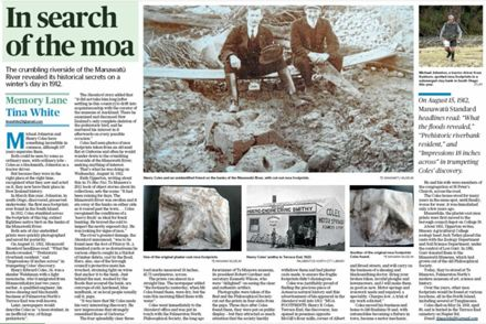 """Memory Lane - """"In search of the moa"""""""