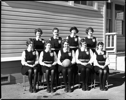 Netball Team, Palmerston North Teachers' College