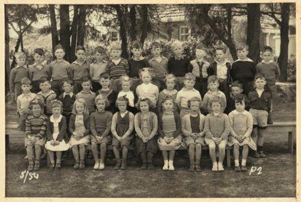 Terrace End School - Primer 2, 1954