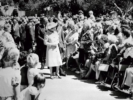 Queen Elizabeth II in the Square