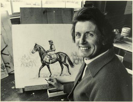 Mrs Jackie Williamson, Artist