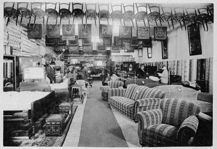 Interior of The Universal Supply Depot shop, Main Street