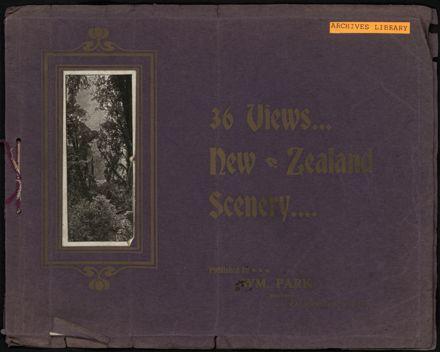 36 Views of New Zealand Scenery 1