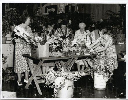 Flower Arrangement for Royal Civic Reception