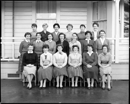 Female Students, Palmerston North Teachers' College