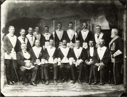 Masonic Lodge members, Palmerston North