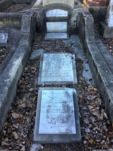 Nicholls Grave Terrace End Cemetery