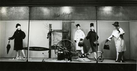 Milne and Choyce window display