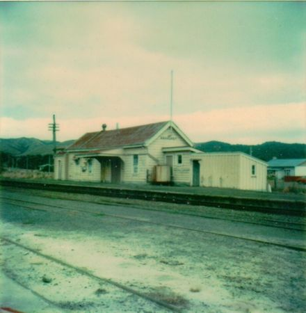 Ashhurst Railway Station