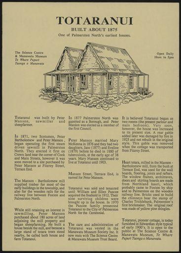 Totaranui and Awahou South School Information Sheet 1