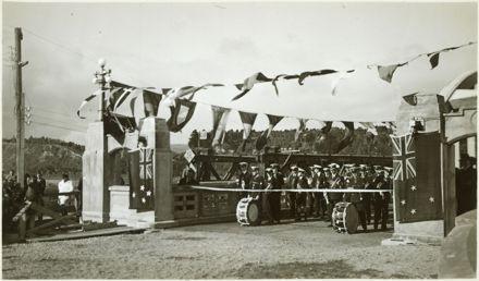 Official Opening of the Second Fitzherbert Bridge
