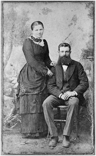 Mr and Mrs Hans Christensen