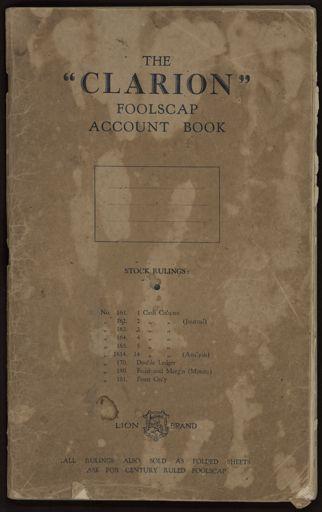Ann Jacques diary 1946--1951