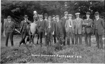 """""""Some Shannon Settlers 1912"""""""
