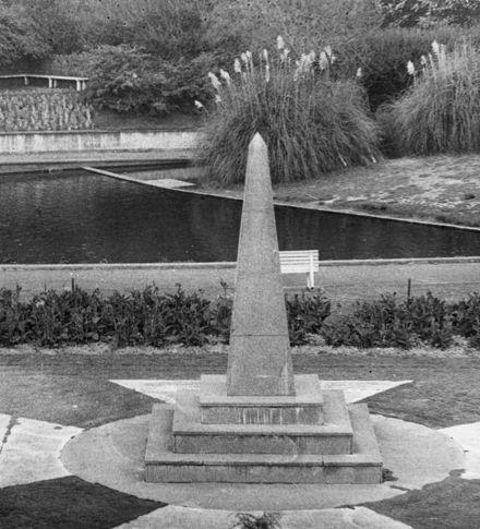 War Memorial, Memorial Park