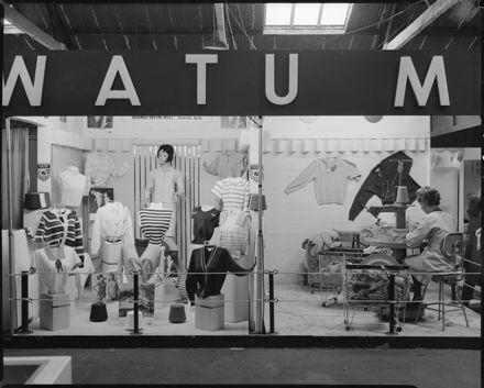 Manawatu Knitting Mills Trade Stall