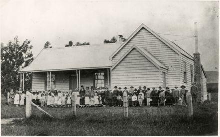 Unidentified Rural Sunday School
