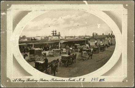 """A Busy Railway Station"", Main Street"
