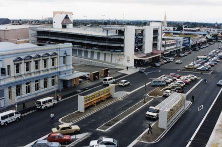 Bus Terminal on Main Street