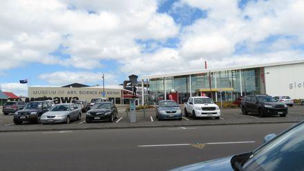 Te Manawa and Globe Theatre, Main Street, Palmerston North
