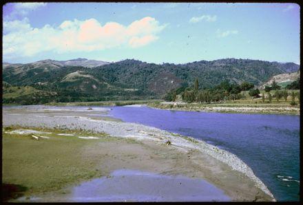 Manawatu River from Ashhurst Bridge