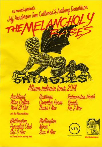The Melancholy Babes tour poster