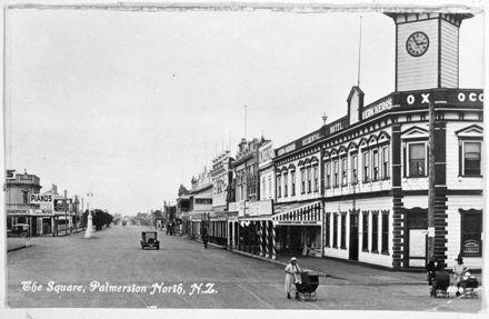 Corner of Fitzherbert Avenue and Church Street East