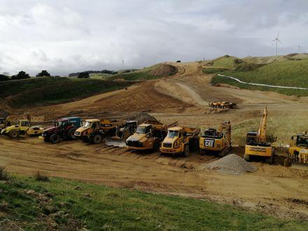 Construction of Te Ahu a Turanga: Manawatū Tararua Highway