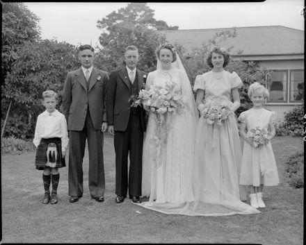 French - Gardiner Wedding, Feilding