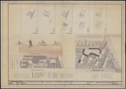 Plan of Palmerston North Central Housing Scheme