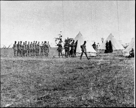 N.Z. Rifle Brigade, Rangiotu Camp