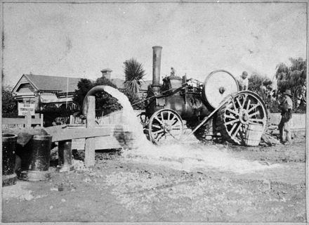 Traction Engine at Work