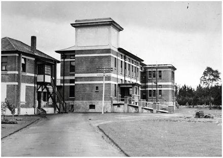 Palmerston North Public Hospital, Ruahine Street