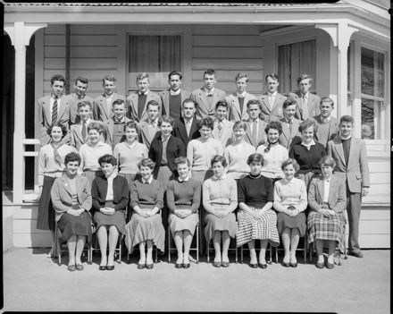 Students, Palmerston North Teachers' College