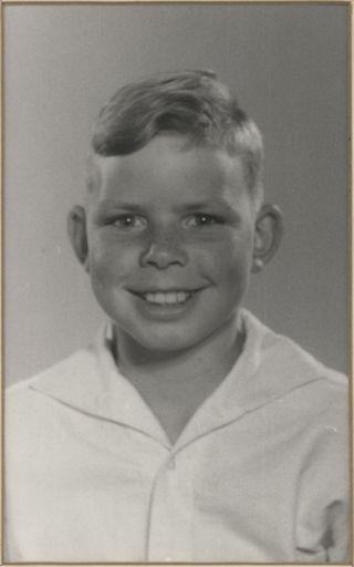 Edward Willson - Terrace End School Dux, 1957