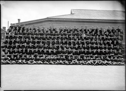 Palmerston North Technical High School Class Photo – Boys