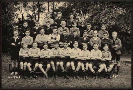 Terrace End School - Standard 5, 1940