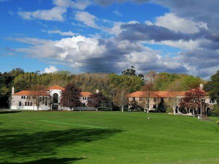 The oval, Massey University Manawatū Campus