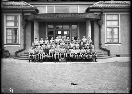 'Arataki' boys, Form I, Palmerston North Intermediate School