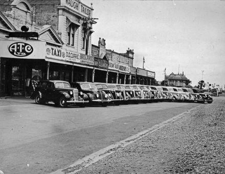 A T C Taxis Ltd fleet and premises, Main Street